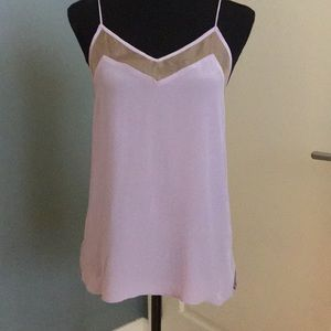 Delicate lilac colored cami from CAMI NYC